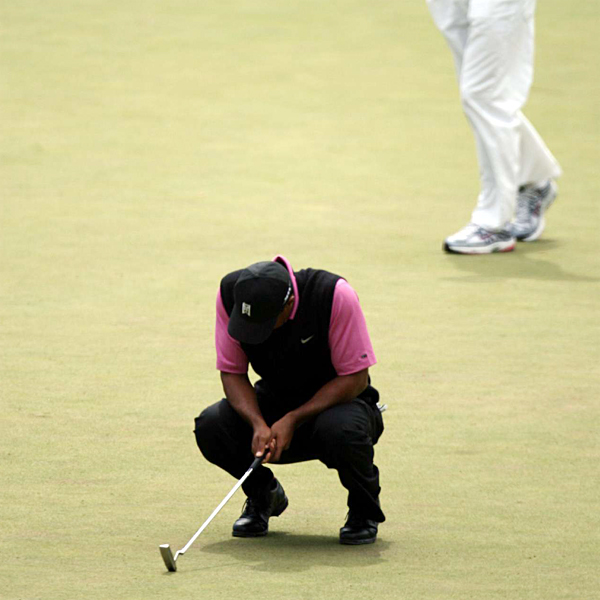 Loser: Tiger's 2007 Imagine how much bigger Woods's season would've been had he caught Zach Johnson at Augusta and Angel Cabrera in the U.S. Open. It was almost a colossal year for Woods. Instead, he gave us a merely gargantuan one.                                                               • Complete Masters Coverage                     • Complete U.S. Open Coverage