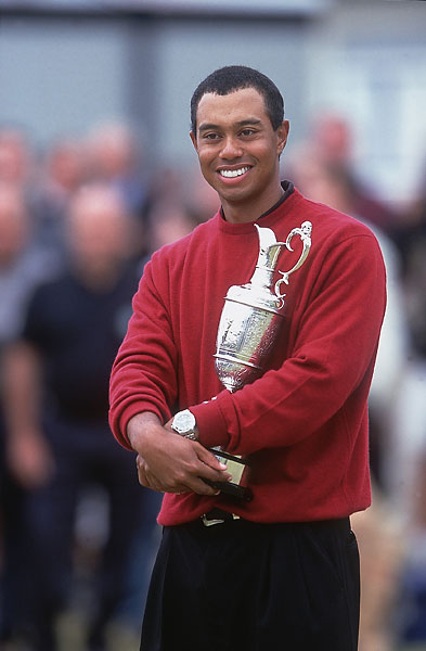 Tiger Woods, 2000, St. Andrews