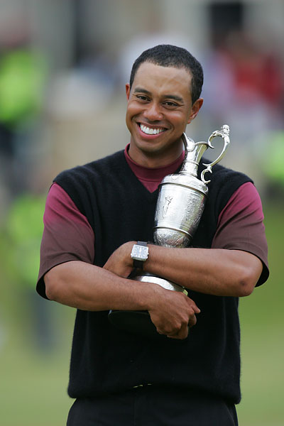 Tiger Woods, 2005, St. Andrews