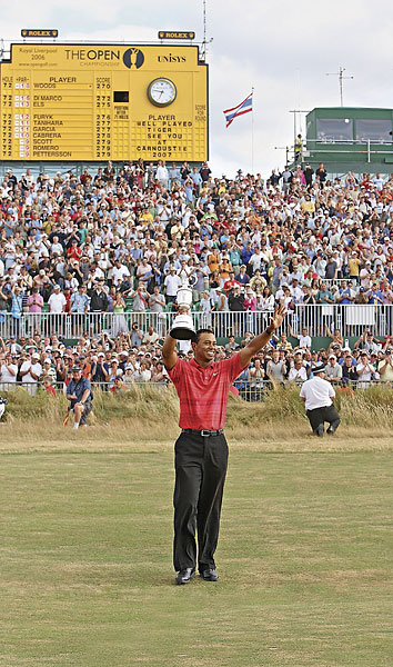 Tiger Woods, 2006, Royal Liverpool at Hoylake