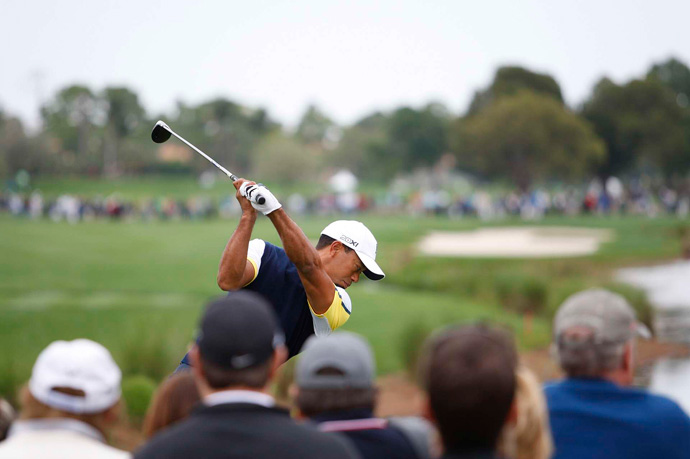 """""""Hopefully tomorrow I can get it going, at least give myself a chance going into Sunday,"""" Woods said."""