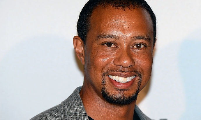 Tiger Woods at the Mandalay Bay on May 17, 2014. Tiger Jam 14 was actually the 16th Tiger Jam.