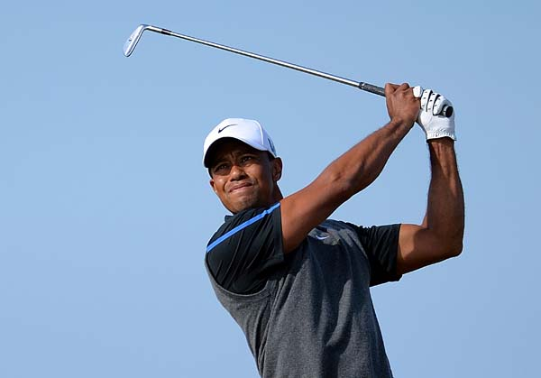 """We play generally everywhere around the world an airborne game where you have to hit the ball straight up in the air and make it stop. Here it's different. A draw will go one distance, a fade will go another, and they're so dramatic. And I just absolutely love it.""                     --Tiger Woods on playing links-style golf at the British Open."