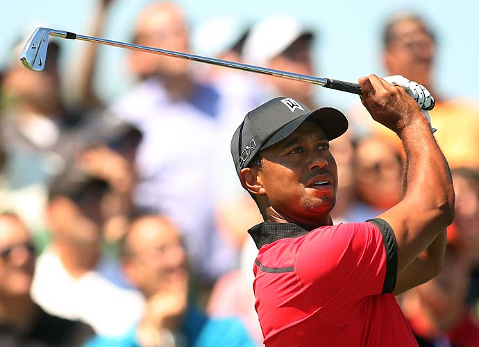 """I'm second on all time list on both, whether it's Majors or all time wins. That's not bad at my age.""                     --Tiger Woods on how he looks at the career PGA Tour wins record versus the career majors record."