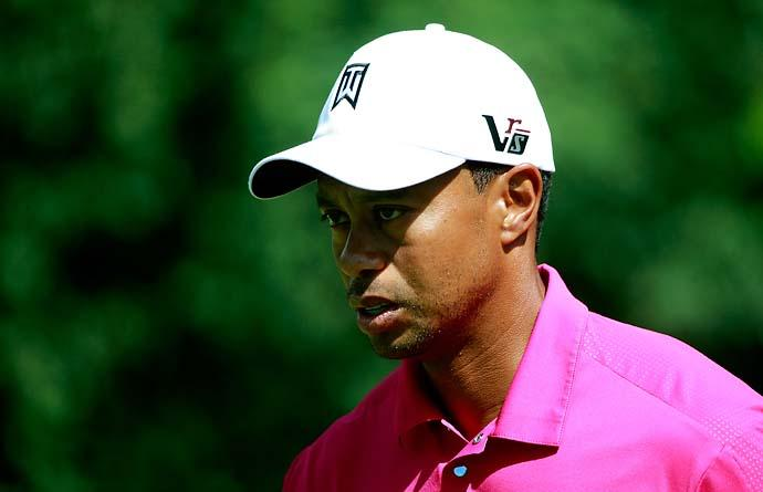 """Am I disappointed? Absolutely not, nope. 61 is pretty good. I'm not bummed.""                       --Tiger Woods on not shooting 59 on Friday."