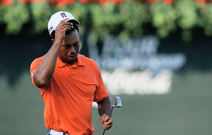 """I'm tired.""                       --Tiger Woods on how he's feeling at the end of the PGA Tour season."