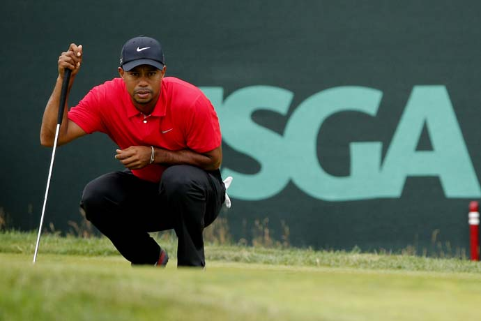 """I think I was leading the Tour the last couple weeks.  I don't know what you're talking about.""                     --Tiger Woods to a reporter who asked why Tiger isn't putitng as well as he did ""five, six, seven years ago."""