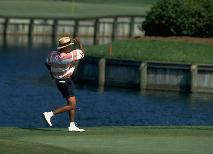 3. Tiger's TPC Triple: Defending champion Tiger Woods took more than a decade to win his second Players Championship, following his initial victory in 2001. He can claim one more big win at the TPC Sawgrass, however. Tiger edged Oklahoma State Junior Trip Kuehne 1 up to capture the 1994 U.S. Amateur played here in August, after being five holes down with 12 to play.