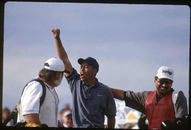 Woods won the 1997 Masters three months later.
