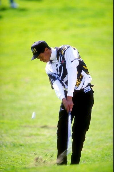 Back in 1993, Tiger Woods needed an ID to get into a golf tournament. (Check out the badge on his belt.)