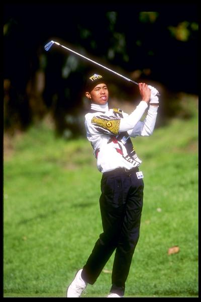 Tiger shot 78-74 to miss the cut at the 1993 L.A. Open. Tiger made his first cut in a professional event at age 18 at the 1994 Johnnie Walker Asian Classic in Thailand.