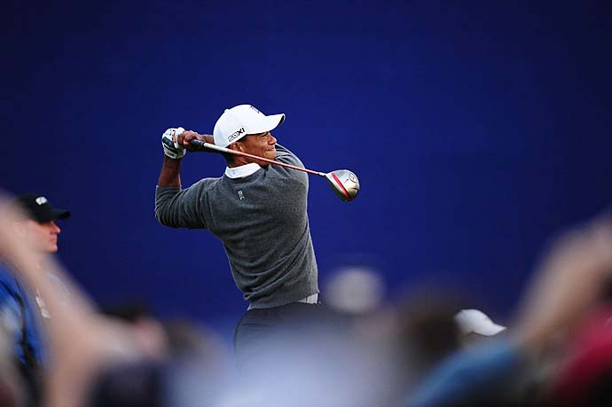 """He has only once in his career gone into a Masters hitting the ball as badly as he is now. His putting on the other hand has never been better, thanks to Steve Stricker.""--Brandel Chamblee on Tiger Woods in a Golf.com chat this week."