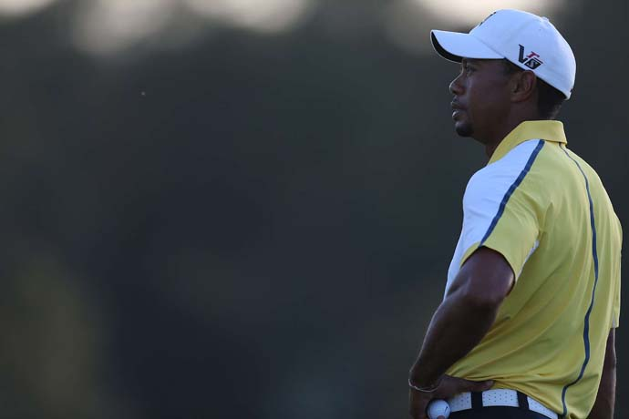 """If it was done a year or two ago, whatever, I wouldn't have the opportunity to play.  But the rules have changed, and under the rules of golf I was able to play.""                     --Tiger Woods on not being disqualified for an illegal drop that came to light after he signed his scorecard."