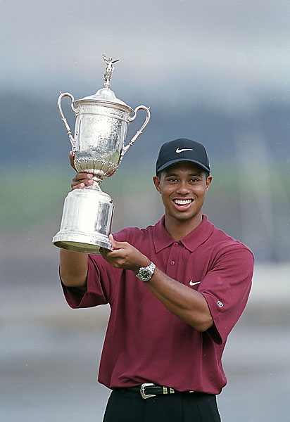 Woods went on to win the next three majors to complete his Tiger Slam.