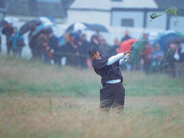 Tiger Woods, United States                     Muirfield, 2002