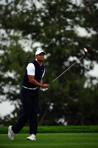 Tiger Woods seeks his ninth professional victory on the famed Torrey Pines course.