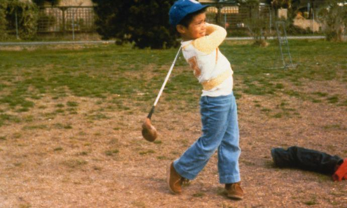 His father, Earl, introduced him to the game by age 2.