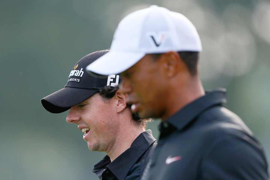 """He's a nice kid, he really is,"" Woods said of McIlroy. ""I played with him in Abu Dhabi. We struck up a friendship back then, and it's continued, and I think it's only going to get better."""