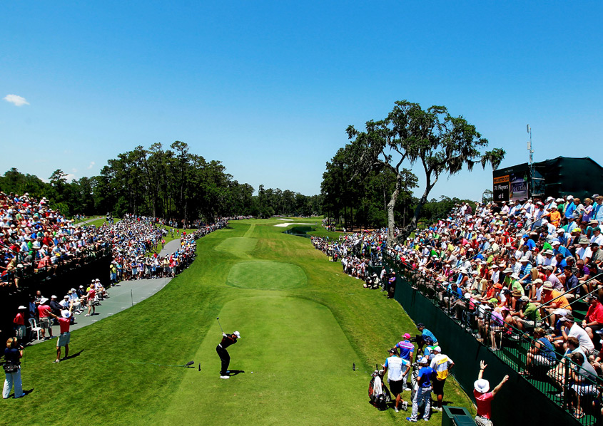Woods has not won at Sawgrass since 2001.