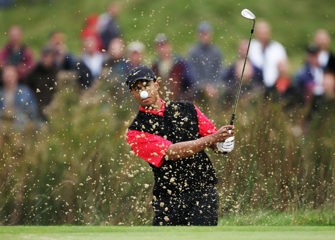 Woods shot rounds of 63, 64, 67 and 67 to win the 2006 American Express Championship by eight strokes.