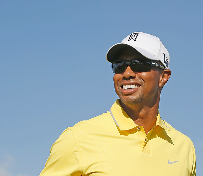 Tiger Woods is also making his 2013 debut this week in Abu Dhabi.