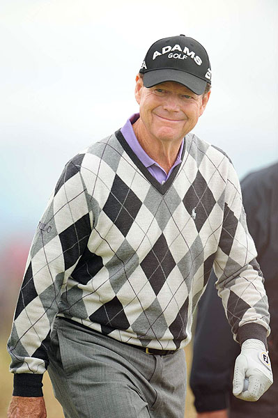 """There was something slightly spiritual about today,"" Watson said after his round.                                                                                     function fbs_click() {u=""http://www.golf.com/golf/gallery/article/0,28242,1910882,00.html"";t=document.title;window.open('http://www.facebook.com/sharer.php?u='+encodeURIComponent(u)+'&t='+encodeURIComponent(t),'sharer','toolbar=0,status=0,width=626,height=436');return false;} html .fb_share_link { padding:2px 0 0 20px; height:16px; background:url(http://b.static.ak.fbcdn.net/images/share/facebook_share_icon.gif?8:26981) no-repeat top left; }Share on Facebook                                                                                                                                                                        addthis_pub             = 'golf';                                           addthis_logo            = 'http://s9.addthis.com/custom/golf/golf_logo.jpg';                                          var addthis_offset_top = -155;                                          addthis_logo_color      = '555555';                                          addthis_brand           = 'Golf.com';                                          addthis_options         = 'email, facebook, twitter, digg, delicious, myspace, google, reddit, live, more'                                                                                                                                Share"