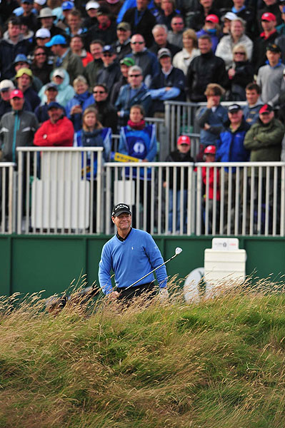 Watson continued to hit from rough to rough on 18, handing the tournament to Cink.