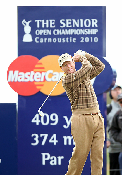 Watson won his first of five British Opens at Carnoustie in 1975. He has won the Senior British Open three times, in 2003, 2005 and 2007.