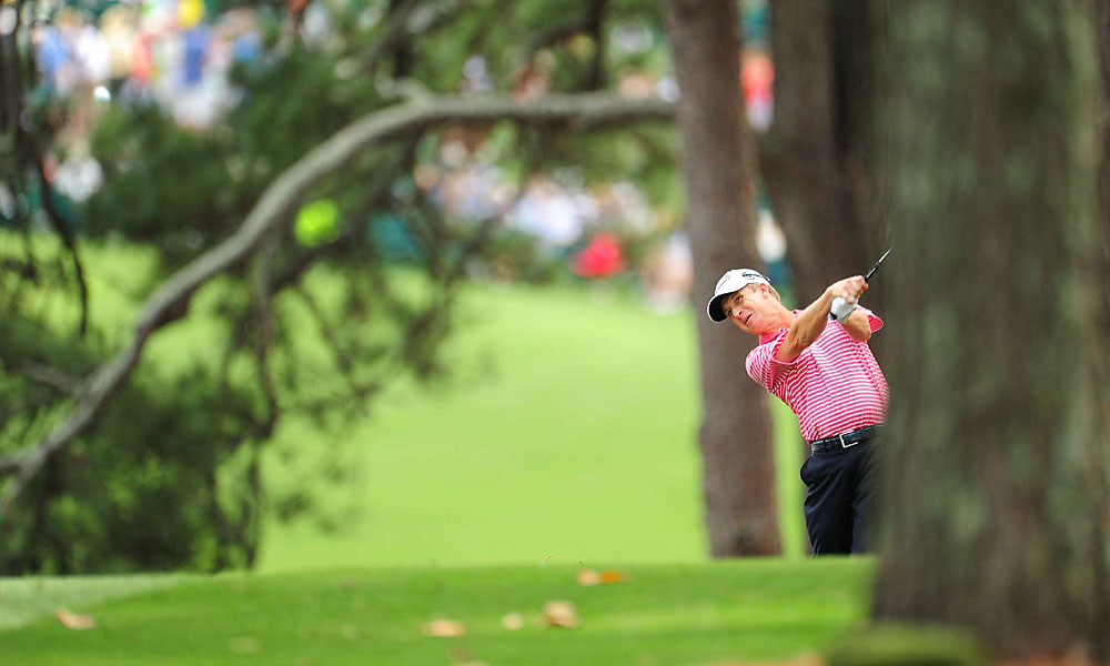 David Toms, 45, is in the hunt after shooting 69.