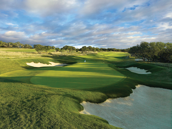 9. TPC San Antonio (AT&T Oaks)                     San Antonio, Tex.                     7,522 yards, par 72                     Green Fees: $131-$175                     210-491-5800                     tpcsantonio.com