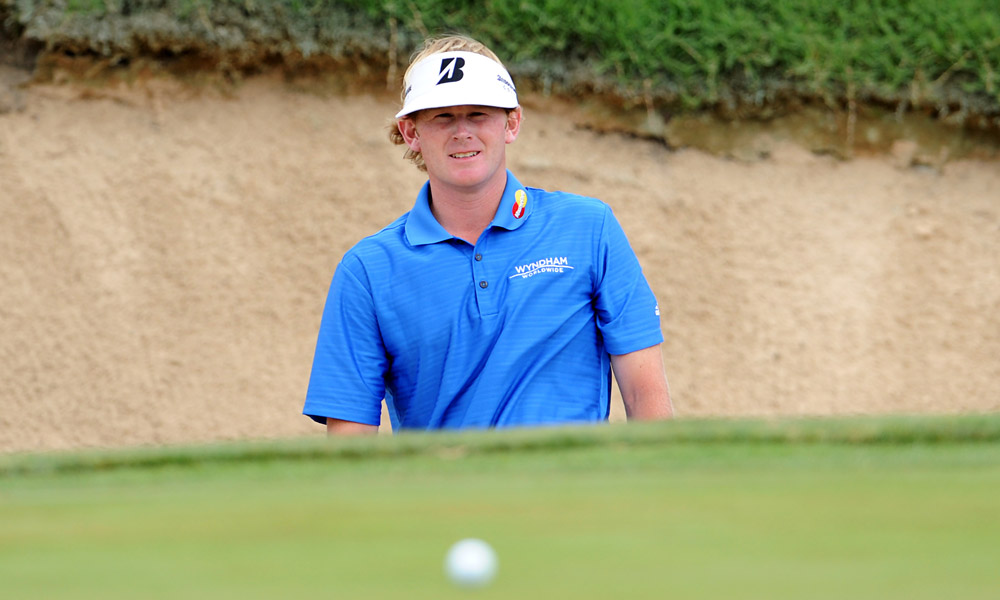4. TPC San Antonio, San Antonio, Texas (Valero Texas Open)                       Par: 72                       Yards: 7,435                       Average Score: 73.665 -- 1.665 strokes over par                                              Brandt Snedeker on the 15th hole of TPC San Antonio at the 2011 Valero Texas Open.