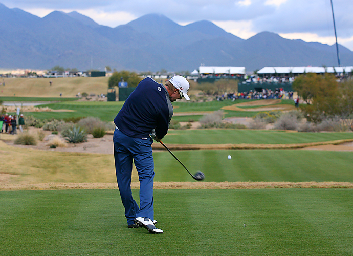 17th hole, TPC Scottsdale