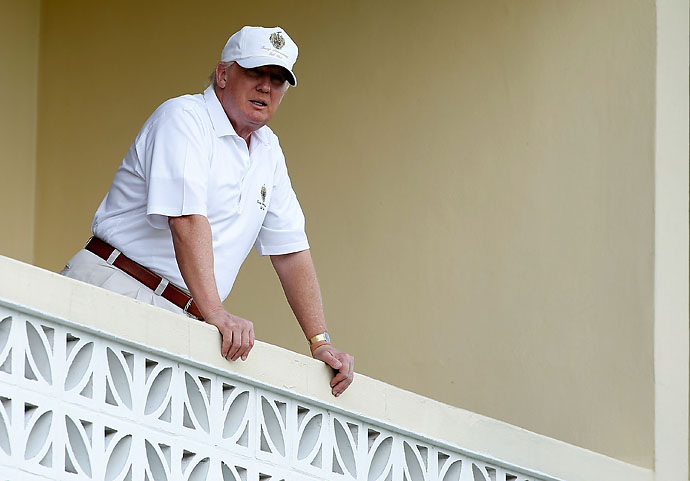 """Improving the fan experience was just as much of a priority for us as anything we did, and I think the more course owners and Tour executives put fans first there will be a surge in ticket sales, merchandise sales, sponsorship dollars etc.""                     --Donald Trump on improvements he made to Doral's Blue Monster course since buying the resort."