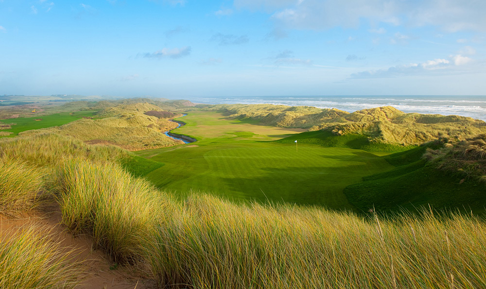 Best New International Course                        Trump International Golf Links Scotland -- Aberdeenshire, Scotland -- trumpgolfscotland.com