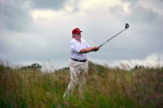 """St. Andrews is spectacular, and it has that legacy, and legacy has real value. But in terms of the physical course, there's no comparison. I don't think there's any course that compares.""                     --Donald Trump on how his new Trump International Golf Links in Scotland compares to the Old Course at St. Andrews."