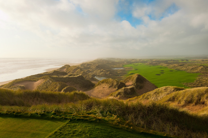 50. Trump International Golf Links Scotland                       Aberdeen, Scotland                       More Top 100 Courses in the World: 100-76 75-5150-2625-1
