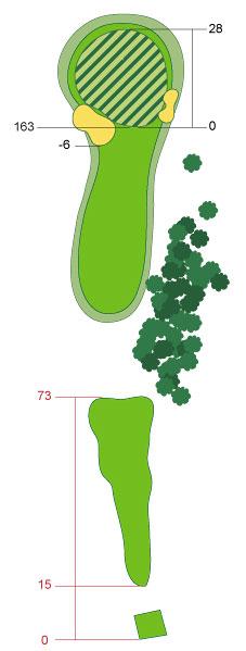 Hole 11 - Maidens                       Par3, 175 yards