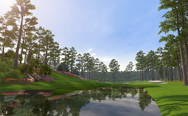 Take on the best of the best on sixteen of the world's most celebrated courses, including Augusta National Golf Club (pictured), Royal Melbourne Golf Club (Australia), Atlanta Athletic Club, TPC San Antonio, St Andrews Links and Pebble Beach Golf Links.