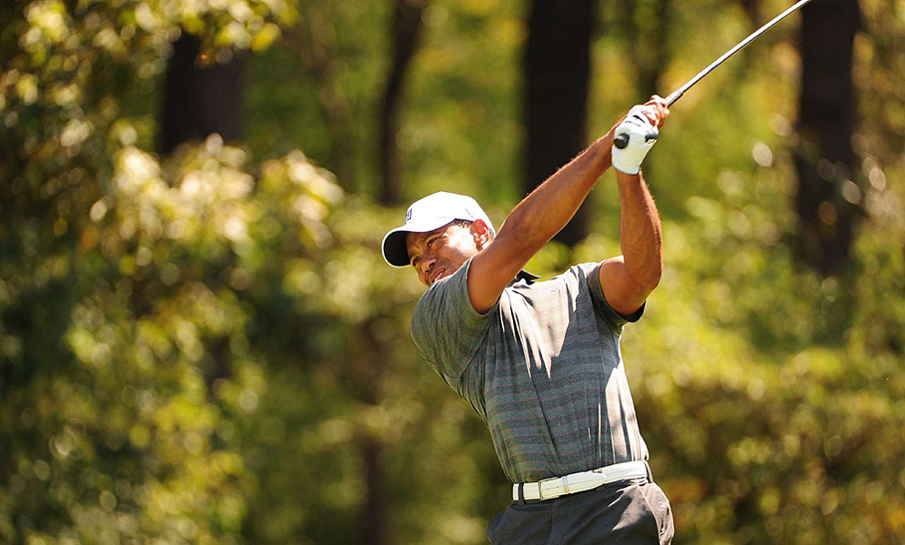 Tiger Woods got back into contention after a three-under 67 on Saturday.