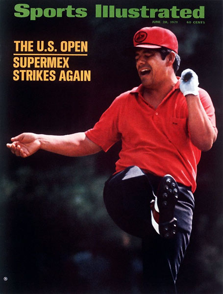 4. 1971 Lee Trevino vs. Jack Nicklaus 280-280 (Trevino won playoff, 68-71)Lee Trevino was hunched over a must-make 6-foot par putt on the 72nd hole, when crack...down came a spectator who had been watching from one of the scoreboards. Shaken, Trevino pushed the putt, then tapped in for bogey. Behind him, Jack Nicklaus bombed a drive down the middle, then stopped a 4-iron 14 feet below the cup for a putt to win. Nicklaus grazed the right edge — but missed. The next day, on the first playoff hole, Trevino playfully tossed a toy snake at Nicklaus, but the Merry Mex's shotmaking was no joke: After snagging a two-shot lead at the third hole, Trevino never trailed.