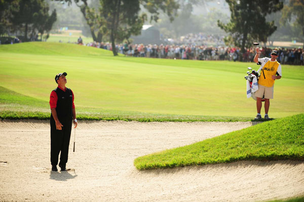 Rocco Mediate got off to a slower start, bogeying the first hole.