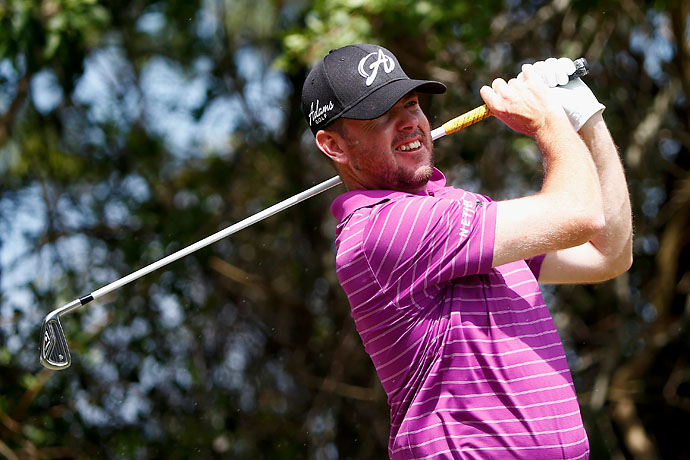 A pair of double bogeys on the front nine sent 54-hole leader Robert Garrigus tumbling down the leaderboard. His 4-over 75 on Sunday dropped him to T4.