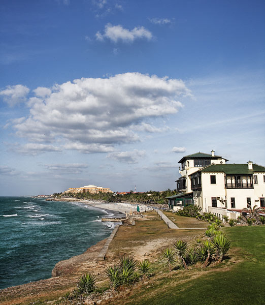 The former du Pont mansion known as Xanadu now serves as the clubhouse at Varadero Golf Club, a newer addition in the popular tourist region east of the capital.