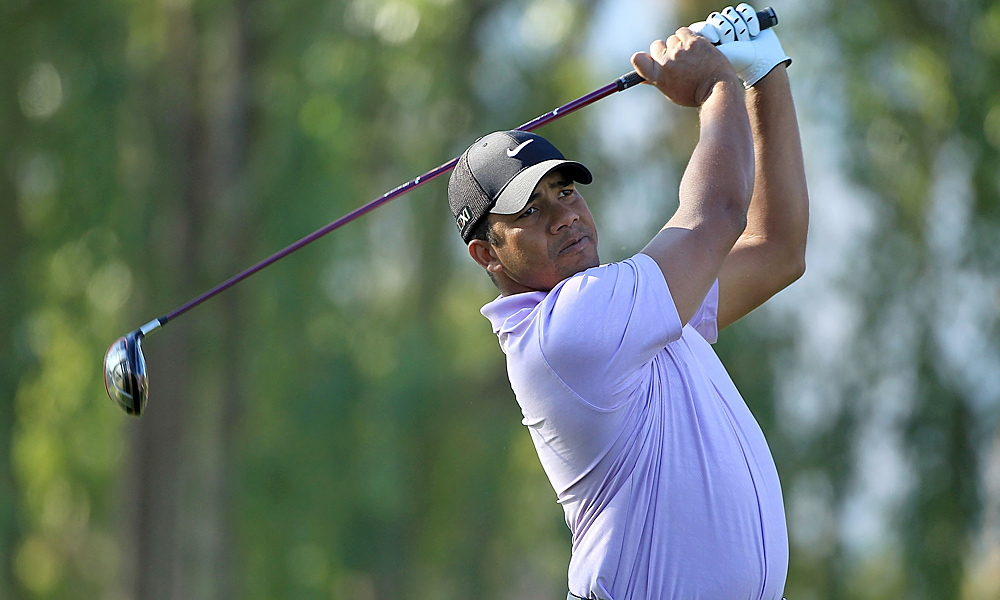 Jhonattan Vegas had a solid round, finishing at two under.