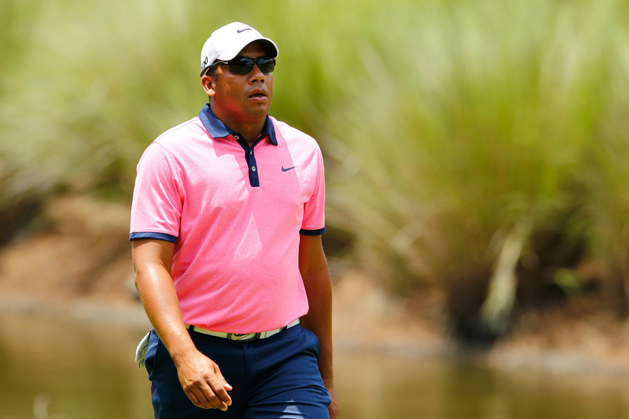 Jhonattan Vegas birdied two of the last three holes to finish at six under.