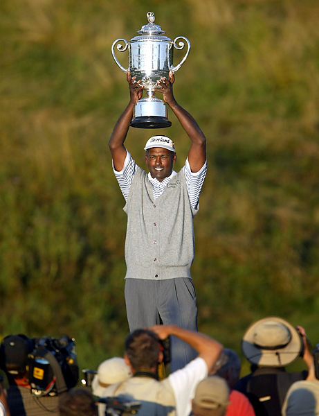 will be held at Whistling Straits - the second time the Pete Dye course will host the fourth major of the year. Vijay Singh won the PGA Championship the first time it was held on the Straits Course, in 2004.