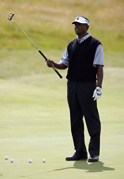 Three-time major champion Vijay Singh has never won a Claret Jug.