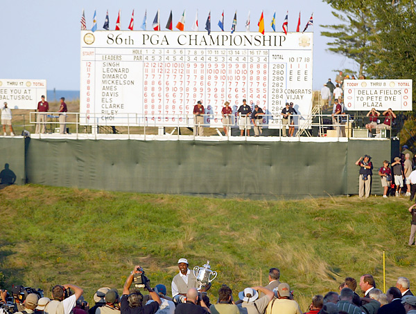 The course was so well received during the '04 PGA that it was awarded the 2007 U.S. Senior Open, the 2010 and 2015 PGA Championships, and the 2020 Ryder Cup.