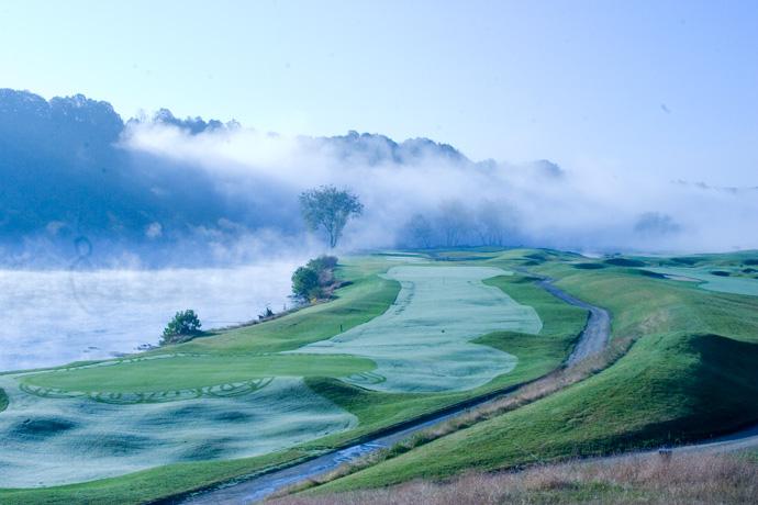 Pete Dye River Course at Virginia Tech                       Radford, Va.                       petedyerivercourse.com