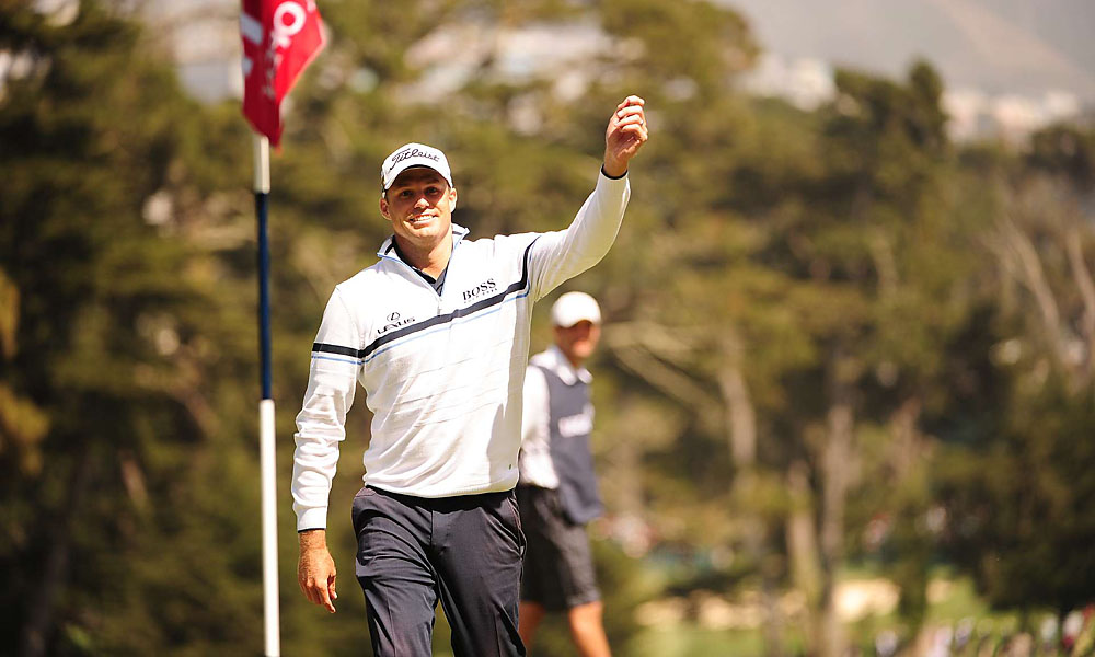 Nick Watney holed a 5-iron from 190 yards for double-eagle on the par-five 17th, only the third in U.S. Open history.